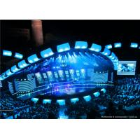 Buy cheap Vivid Color Stage Background Outdoor SMD Led Screen P10 With brightness >8000cd/㎡ from wholesalers