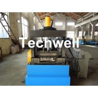 China Cable Tray Forming Machine With 18 Groups Forming Roller Stand , Roll Forming Equipment on sale