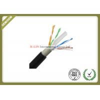 Buy cheap Outdoor Cat6 UTP Network Fiber Cable 0.56mm Copper Double Jacket 1000ft 23AWG from wholesalers