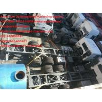 China HOWO7 25 - 40 Tons Semi Trailer Trucks / Cargo Truck Chassis TR691 model Tyre wholesale