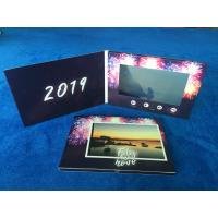 China Digital innovation  video cards 7'' lcd screen video brochure card video greeting card for wedding video invitations wholesale