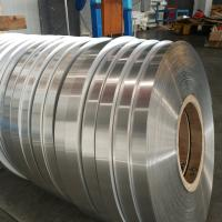 China Single Side Coated Aluminum Strip Roll 0.2mm Thickness For PPR Pipes Durable wholesale