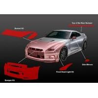 China Urethane Car Body Paint Protection Film Solvent Resistant Easy Cleaning on sale