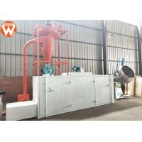 China Multi Layer Aquatic Fish Feed Dryer Machine 150-200kg/H 0.37kw Exhaust Wind Power wholesale