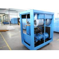 China Industrial VFD Air Compressor , Lubricated Rotary Screw Compressor PM Motor 30HP 22kW wholesale