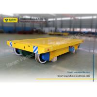 China heavy load manufacturing industrial turning rail transfer cart wholesale