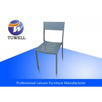 China Modern Colorful Contemporary Steel Dining Chairs , Metal Dining Chairs wholesale