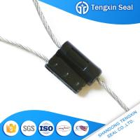 China Tengxin TX-CS 303 Laser Printed or hot stamping Great demand tie zinc cable security seal wholesale