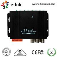 China Active CCTV UTP Video Extender Transceiver , Twisted Pair Video Converter wholesale