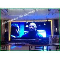 Buy cheap High Refresh P2.5 Small Stage Background Screen LED Video Display For Stage from wholesalers