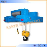 China Petrochemical Mining Oil Electric Wire Rope Hoist 3P 380V Plywood Packing wholesale