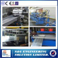 China Chain Driven Cold Rolled Steel Cable Tray Roll Forming Machine 16 Sets Forming Frame wholesale