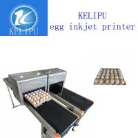 China Batch Number Egg Industrial Digital Printing Machines With High Efficient wholesale