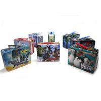 China Marvel Avengers Boy's Tin Lunchbox wholesale
