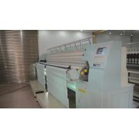 China High Speed Single Roll Computerized Quilting Machines Multi Head With Embroidery Function on sale
