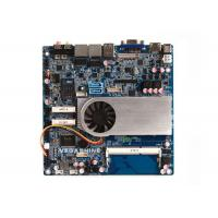 China Small Thin Industrial Motherboard , Intel® Haswell i5-5200U CPU support 4K HD display wholesale