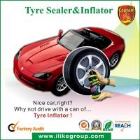 China Tubeless Car Tire Sealant / Motorcycle Tire Sealer And Inflator 450ml / 650ml wholesale