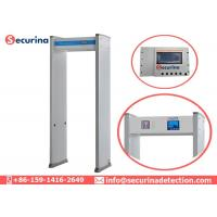 China Security Check Walk Through Body Scanner IR System For Airport Automatic Counting wholesale