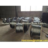China Anti-twisting braided steel wire rope Offers complete stability to rotation on sale