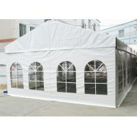 China High Reinforced Aluminum Outdoor Event Tent 6M Flame Retardant With PVC Cover wholesale