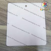 China PVC EVA TPU Cosmetics Packaging Bags With Round Hole And Printing wholesale