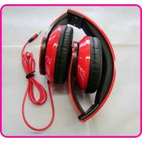 China Cheap / Promotional Studio Headphones, Red Stereo Foldable DJ Headphone YDT60 on sale