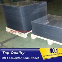 China 16lpi -161lpi lenticular sheet for 3d and flip lenticular effect printed by UV offset print by injekt print wholesale