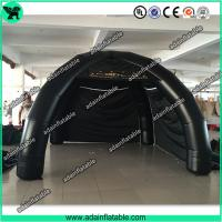 China Black Spider Tent Inflatable, Event Advertising 4 legs Inflatable Tent Booth wholesale