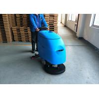 China Durable Commercial Tile Cleaning Machine With Two Big Wheels wholesale