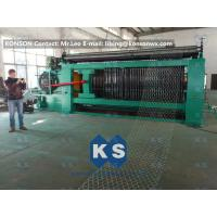 China Double Rack Drive Gabion Machine / Hexagonal Wire Mesh Machine wholesale