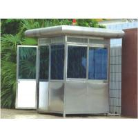 China Custom Portable Stainless Steel Security Guard Booths , Sentry Box wholesale