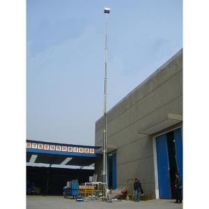 China 18m lockable pneumatic telescopic mast/ aluminum telescopic mast/ telecom tower mast/ telescopic mast/ pneumatic mast on sale