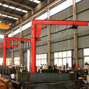 Half 4 Meters High Light Semi Gantry Crane High Herformance  Electric Hoist