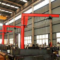 Quality Half 4 Meters High Light Semi Gantry Crane High Herformance  Electric Hoist for sale