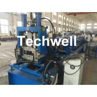 Buy cheap Quick Interchangeable C / Z Purlin Roll Forming Machine for Making C / Z Shaped Purlin Sheet from wholesalers