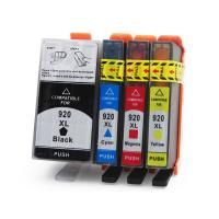 China HP Compatible Printer Ink Cartridges , Cyan / Yellow Ink Print Cartridges wholesale