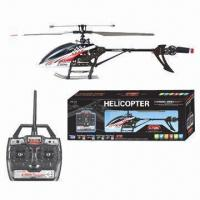 China 2.4GHz 4CH Single Propeller RC Helicopter with Ggyroscope and 50m Flight Area on sale