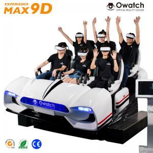 China 6 seats 9d vr cinema / 9d vr family / virtual reality indoor simulator wholesale