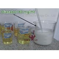 China Oil Based Legal Dianabol Anabolic Steroids 80mg / Ml Liquid Oral Steroids For Mass Gain CAS 72-63-9 wholesale