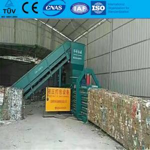 China Waste paper hydraulic press machine cardboard baler with TUV wholesale