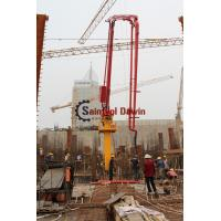 Buy cheap 29m 33m Tower Concrete Placing Boom with 22.7m Column and Auto Hydraulic Lifting System from wholesalers