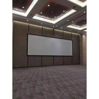 Buy cheap HD Customized Fixed Frame Projector Screen Shrot Throw With Black Velvet from wholesalers