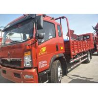 Buy cheap Transport Double Axles HOWO Light Duty Trucks With 12.00R20 Tyres from wholesalers
