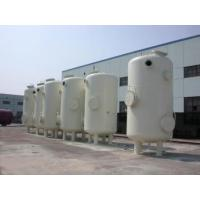 Quality Custom Vertical Vacuum Receiver Tank , Stainless Steel Vacuum Storage Tanks for sale