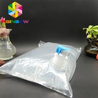 China Beverage Spout Pouch Packaging 3L 5L 10L Custom Printing Aseptic Bib Bag In Box wholesale