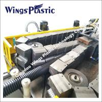China PVC Double Wall Corrugated Pipe Extrusion Machine, PVC Corrugated Pipe Extrusion Line on sale