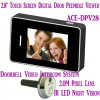 """China 2.8"""" LCD Screen Digital Peephole Viewer Doorbell Video Camera Recorder Access Control DVR wholesale"""