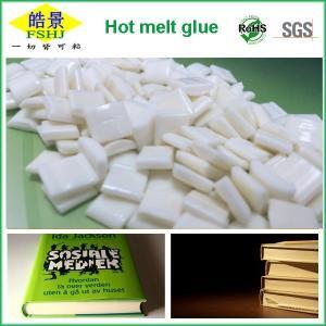 China EVA Milk White Hot Melt Pellets Quick Drying Hot Melt Glue For Bookbinding Application on sale