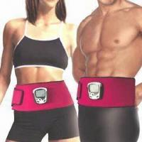 China Slimming Neoprene Belts with LCD and Four Silicone Conducting Patches wholesale