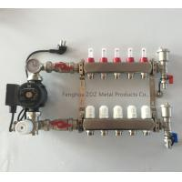 Stainless Mixing Manifold for Floor and Under Floor Heating System